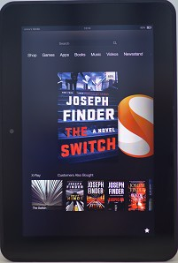 Amazon Kindle Fire HD 32GB, Wi-Fi, 8.9in